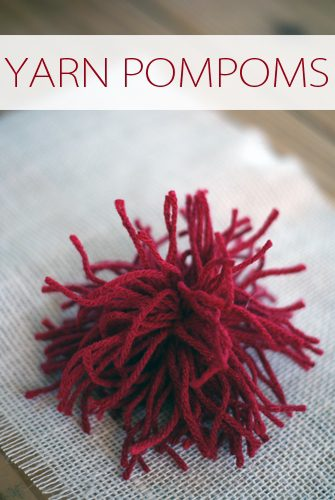 101 Days of Christmas: Yarn Pompoms