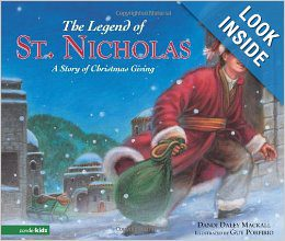 The Legend of St. Nicholas: A Story of Christmas Giving {Christmas Book Roundup at lifeyourway.net}