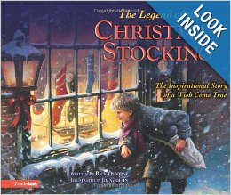 Legend of the Christmas Stocking {Christmas Book Roundup at lifeyourway.net}