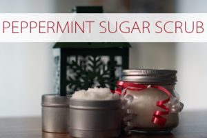 101 Days of Christmas: Peppermint Sugar Scrub