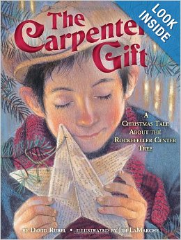 The Carpenter's Gift: A Christmas Tale about the Rockefeller Center Tree {Christmas Book Roundup at lifeyourway.net}