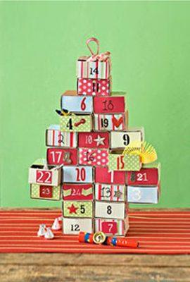 Matchbox Advent Calendar {DIY Advent Calendars at lifeyourway.net}