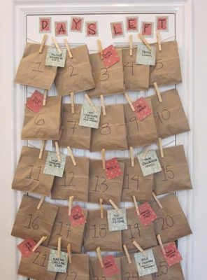 Fun & Easy Paper Bag Advent Calendar {DIY Advent Calendars at lifeyourway.net}
