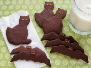 Read more about the article Gluten-Free Chocolate Halloween Cut Out Cookies