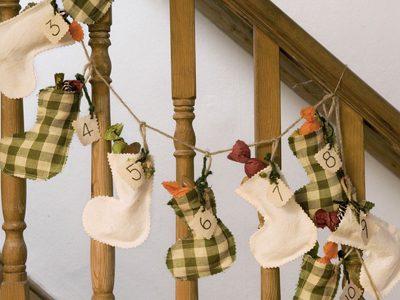 Stocking Advent Calendar {DIY Advent Calendars at lifeyourway.net}