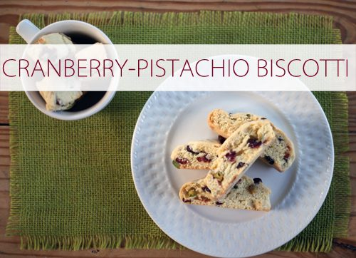 Cranberry-Pistachio Biscotti {101 Days of Christmas at lifeyourway.net}