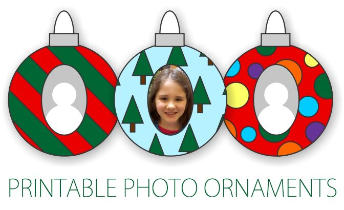101 Days Of Christmas Printable Photo Ornaments