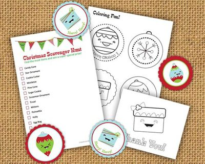Christmas Activity Kit {Printables for Kids Roundup at lifeyourway.net}
