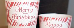 101 Days of Christmas: Printable Coffee Sleeves