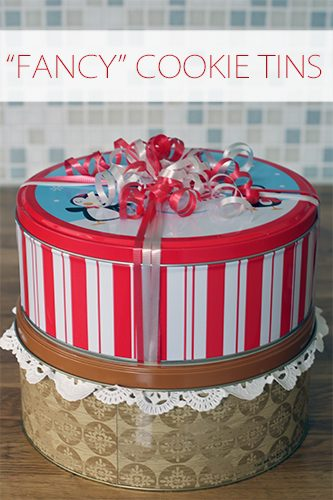 """""""Fancy"""" Cookie Tins {101 Days of Christmas at lifeyourway.net}"""