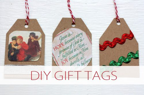 Printable Gift Tags Roundup {101 Days of Christmas at lifeyourway.net}