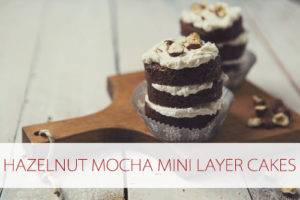 Read more about the article 101 Days of Christmas: Hazelnut Mocha Mini Layer Cakes