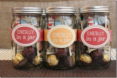 Energy in a Jar {Gifts in a Jar Roundup at lifeyourway.net}