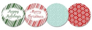 101 Days of Christmas: Printable Jar Lid Inserts