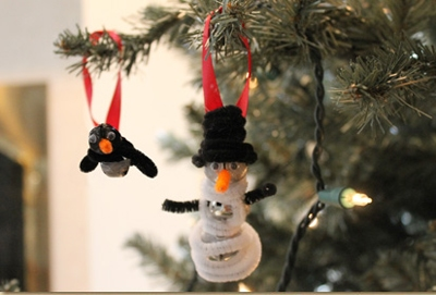 Jingling Winter Friends {DIY Ornaments for Kids Roundup at lifeyourway.net}
