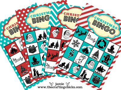 Christmas Bingo {Printables for Kids Roundup at lifeyourway.net}