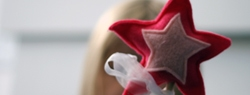 101 Days of Christmas: Felt Star Wand
