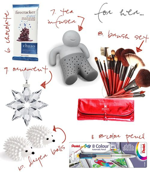 Stocking Stuffers {2013 Holiday Gift Guide}