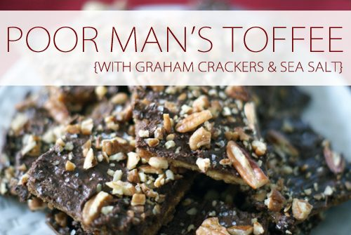 Poor Man's Toffee {101 Days of Christmas at lifeyourway.net}