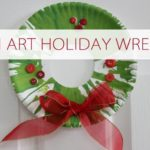 101 Days of Christmas: Spin Art Holiday Wreath