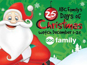 ABC Family's 25 Days of Christmas Movie Schedule {2013}