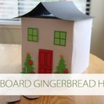 101 Days of Christmas: Cardboard Box Gingerbread House