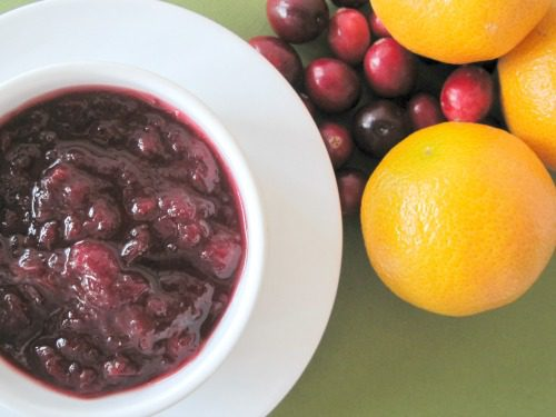 You are currently viewing Cranberry Clementine Sauce