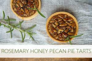 Read more about the article 101 Days of Christmas: Rosemary Honey Pecan Pie Tarts