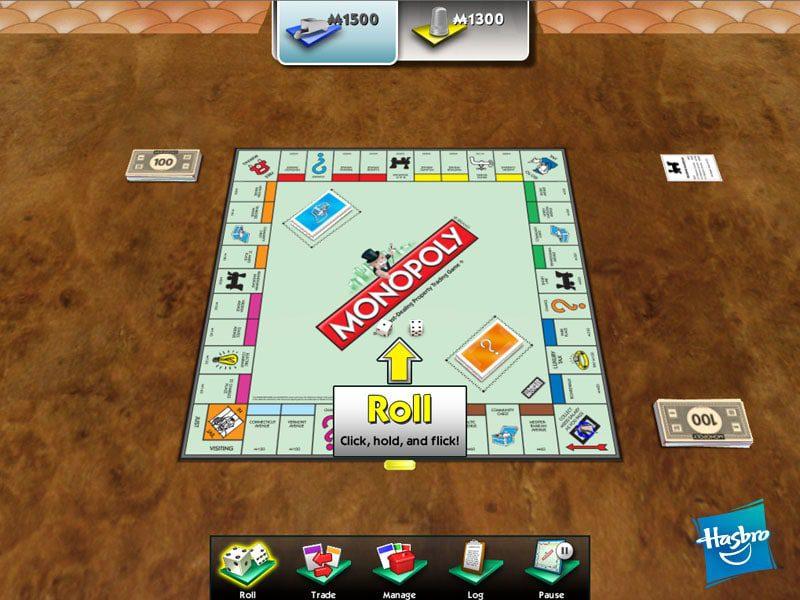 Touchscreen Monopoly