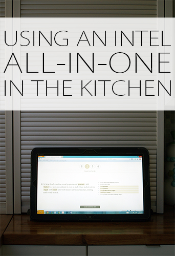 Using an All-in-One Computer in the Kitchen