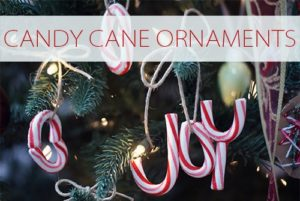 101 Days of Christmas: Real Candy Cane Ornaments
