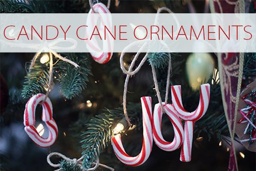 Real Candy Cane Ornaments {101 Days of Christmas at lifeyourway.net}
