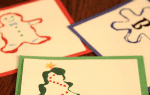 101 Days of Christmas: Cookie Cutter Painted Gift Tags