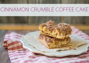 101 Days of Christmas: Cinnamon Crumble Coffee Cake