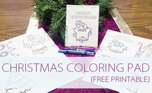 101 Days of Christmas Mini Christmas Coloring Book  Life Your Way