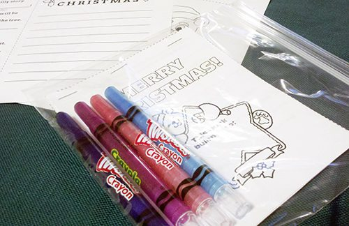 Mini Christmas Coloring Pad {101 Days of Christmas at lifeyourway.net}