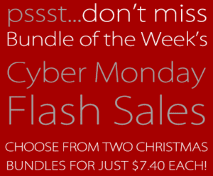 Two Bundles of Christmas eBooks $7.40 Each {Cyber Monday Flash Sale}