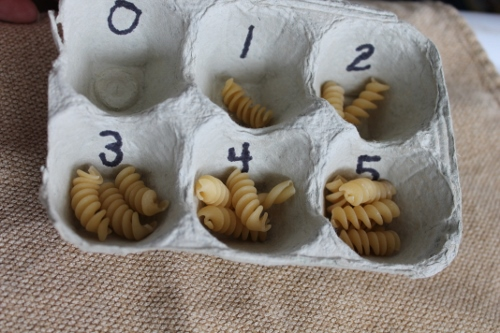 How to Reuse an Egg Carton - Counting Work