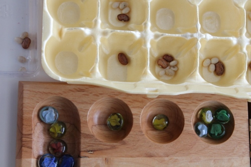How to Reuse an Egg Carton - Homemade Mancala