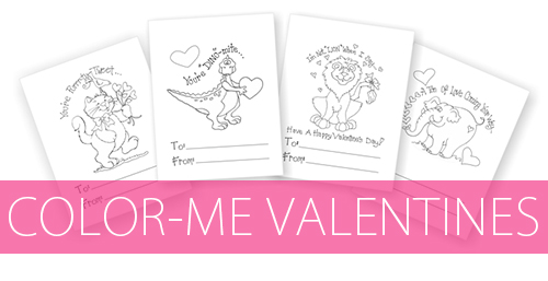 Free, Printable Color-Me Printables