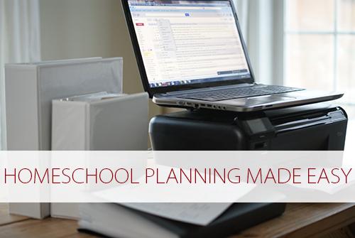 Homeschool Planning Made Easy at lifeyourway.net