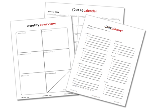 Daily Action Planner and Planning in 2014