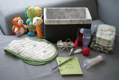 Quick Tip: Pack a Nursing Basket