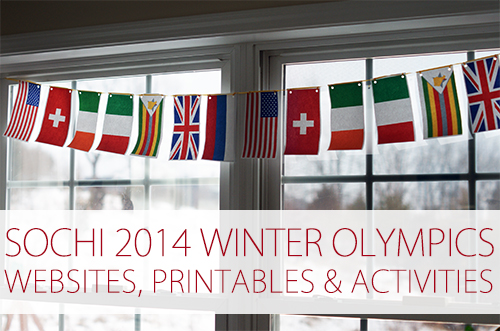 Sochi 2014 Winter Olympics Websites, Printables & Activities