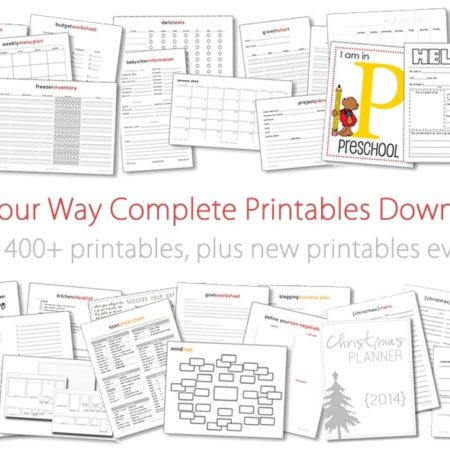 Life Your Way Complete Printables Download Pack