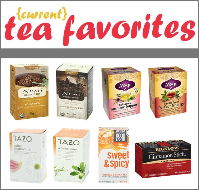{Current} Tea Favorites: 8 Flavored Teas for Your Next Cuppa