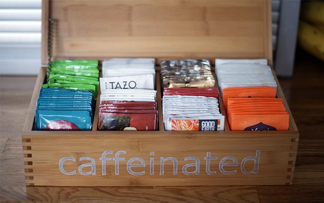 Organizing Your Tea Collection