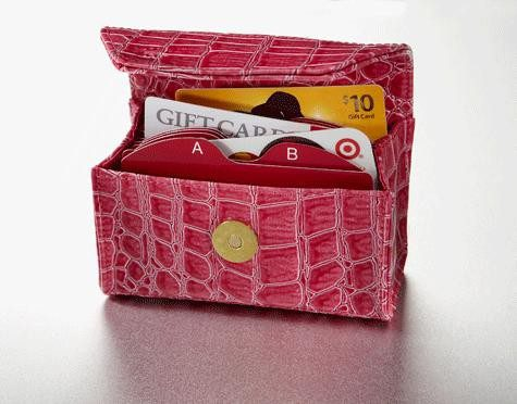 Card Cubby Store Card Organizer