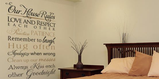 WiseDecor Decorative Lettering