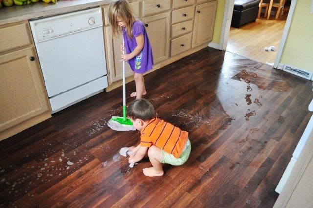 15 Ways Your Kids Can Help Spring Clean